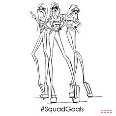 dream team #peaceloveworld #squadgoals #toocool
