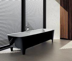 Accademia Pop #bathtub in #black - Limited Edition #Autoritratti #Teuco