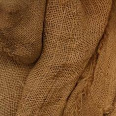 Turn burlap fabric into a wall covering. Burlap Sacks, Hessian, Fabric Covered Walls, Fabric Walls, Hallway Pictures, Painting Burlap, Burlap Fabric, Fabric Wallpaper, Finding Nemo