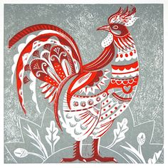Inspiration for sketch a day chellenge day  57 ~ Chicken.  Sarah Young