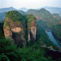 Wuyi Mountain, China