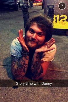 Aweeeeeee Danny is so cute