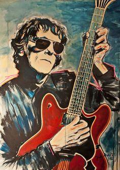 Ventas y encargos: inesayerza@gmail.com Vinyl Record Display, Rock Argentino, Estilo Rock, Rockn Roll, Rock Posters, Arte Pop, Cultura Pop, Retro Art, Classic Rock