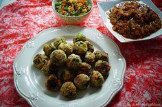 KNUSPERKABINETT: Indische vegetable Koftas mit einer süsssauren Pap... Garam Masala, Vegan Vegetarian, Vegan Food, Healthy Food, Healthy Eating, Indian Food Recipes, Vegan Recipes, Nom Nom, Sweet