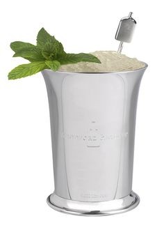 Ginger Mint Julep recipe for your Kentucky Derby Party | Come see the entire collection of Horse Racing Invitations at Announcingit.com
