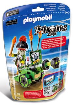 Shop for Playmobil Green Interactive Cannon with Pirate Captain Playset. Get free delivery On EVERYTHING* Overstock - Your Online Toys & Hobbies Shop! Get in rewards with Club O! Play Mobile, Playmobil Pirates, Canon, Pirate Island, Sports Toys, Legos, Kids Toys, Cool Designs, Lunch Box