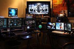 Os melhores quartos dos Gamers - Ei Nerd