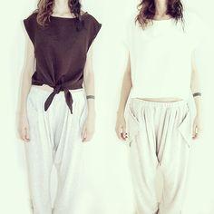 LIV's black/white Tee + Pants! disponibili/per ogni info text us! liv_inthebox@libero.it fashion design passion