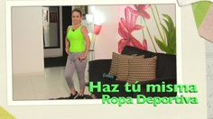 DIY Haz tu misma Ropa Deportiva  Make your own sportswear- Omaira tv