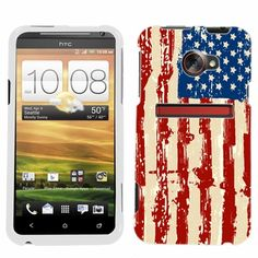 HTC EVO LTE Distressed USA Flag Phone Case Cover