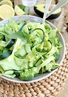 Green Monster Detox Salad by honeyandfigs #Salad #Green #Detox