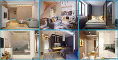 Come Arredare una Casa di 40 mq: 5 Progetti di Design