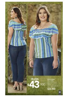 Gianni Garetti / Campaña 15 / 2017 Blouse Styles, Blouse Designs, Latest Top Designs, Ankara Skirt And Blouse, Girls Blouse, Indian Designer Outfits, Plus Size Tops, Casual Tops, Women's Fashion Dresses