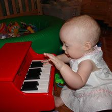 """Taylor's introduction to """"My First Piano"""""""