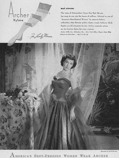 August Vogue 1949 by Cecil Beaton