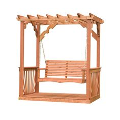 Backyard Discovery 6411 Pergola Swing