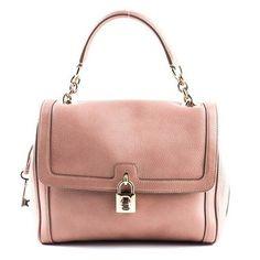Dolce & Gabbanna Blush  Leather Satchel HandBag ♡