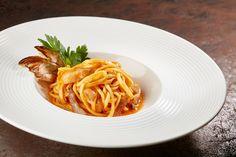 Pasta all'amatriciana by chef Nicola Michieletto CAST Alimenti - La scuola dei mestieri del gusto - www.castalimenti.it