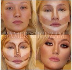 Beautiful #contour #makeup
