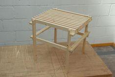 Max Lamb's DIY Wood Slat Chair, Remodelista