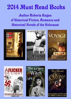 Roberta Kagan Author of Historical Fiction, Romance and Historical Novels of the Holocaust. Roberta Kagan is an American writer of Jewish and Romany decent. She writes Historical Fiction and Historical Romance, most of which is set during the holocaust. Although she never discounts the horrors of the time period, the main focus of her work is on ordinary people who prove to be strong heroic characters in unfathomable circumstances.