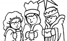 Lovely Free Religious Christmas Coloring Pages