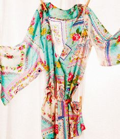 This is the most comfortable robe ever! Love it in the summer
