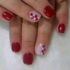 We have found 14 Super Cute Valentine's Day Nail Art Designs. If you are looking for some inspiration for Valentine's Day this year, you have come to the right place. Check out some of the best vday nail art designs below. Valentine Nail Art, Nails For Valentines Day, Valentine Nail Designs, Valentine's Day Nail Designs, Nails Design, Super Nails, Hot Nails, Nail Decorations, Holiday Nails