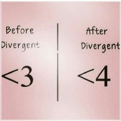 This is so me!! <4 divergent