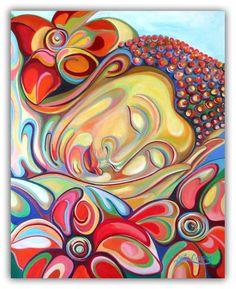 vibrant art by Sofan Chan