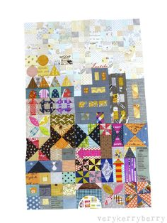 Welcome to part two on the construction of the My Small World quilt-along and if you've been busy working away you should now have a good i...