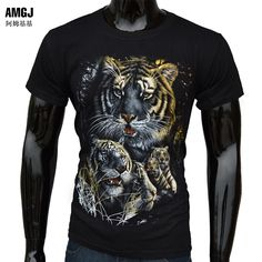 ab18d9ac7 Fashion Men Women Skull Animal Tshirt Crew Neck T-Shirt Tops Short Sleeve  Tee