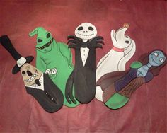 Can Create Nightmare Before Christmas Ceiling Fan Blades
