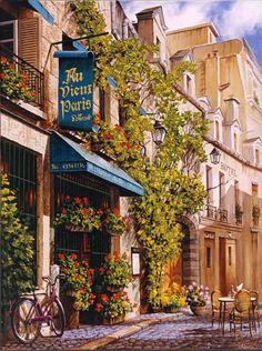 Au Vieux Paris, Rue Chanoinesse, París, France