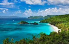 Trunk Beach, St. John Island, Virgin Islands National Park, United States Virgin Islands (© Dennis Frates/Alamy)