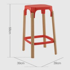 New Plastic Seat Wood Legs High Club Chair Bar Stool Counter Reception Guest Chair - China Office Chairs & Fiberglass Leisure Seating Manufacturer in Alibaba