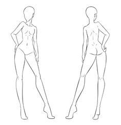 FTU Clothes Model Front And Back Female By Izumi Sendeviantart On DeviantArt