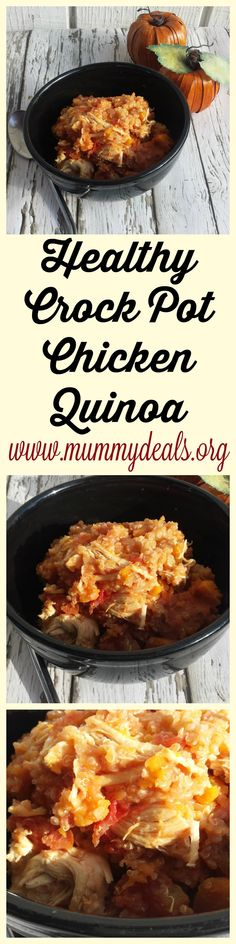 Healthy Crock Pot Chicken Quinoa