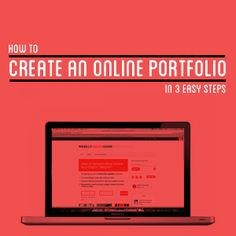 A reminder to myself: How to create an online portfolio in 3 simple steps from @Rahat Pye Bashar