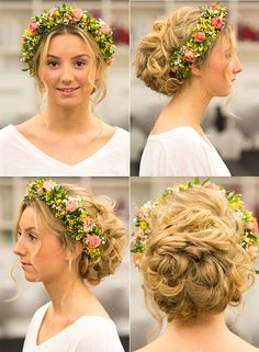 Hippie-Braut mit Blumenkranz Made by Lisa. Weddingtrend Hair&Beauty Hagemann // Friseur Bonn