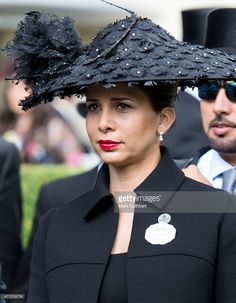 Princess Haya Bint Al Hussein on day 1 of Royal Ascot at Ascot Racecourse on June 16, 2015 in Ascot, England.  (Photo by Mark Cuthbert/UK Press via Getty Images)