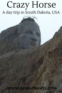 Read about my trip to Crazy Horse Memorial in South Dakota, USA. It's a memorial to a native American, trying to keep his lands and way of life. South Dakota Vacation, South Dakota Travel, Badlands National Park, Us National Parks, Crazy Horse Memorial, Us Park, Travel Usa, Travel Tips, Travel Destinations