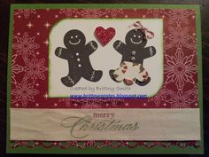 Gingerbread man and woman created by Brittny Smith