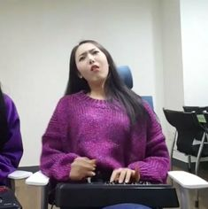 Meme Faces, Funny Faces, Sinb Gfriend, Role Player, G Friend, Funny Cute, Kpop Girls, Sticker, Park