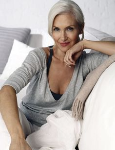 Norwegian model Velaug Skandsen
