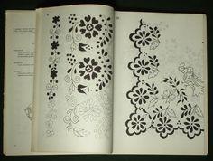 Book Antique Hungarian Folk Embroidery Pattern Kalocsa Ethnic Costume Art Matyo