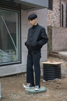 Cool kid #menswear #black #fashion #outfit #mode #style #outfit #clothing #streetstyle