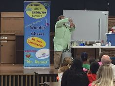 Science Show in Newton's Grove, North Carolina at Hobbton Elementary School