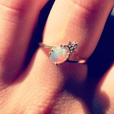 Opal is my favourite stone (and my birthstone). It is so unique.