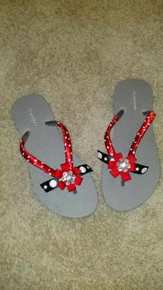 0d4e526f14b4ce  20 baseball flipflops! Team colors can be used. Email request to  gbrock14 gmail